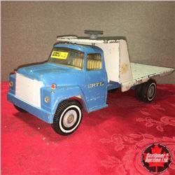 Toy Truck: ERTL Flatdeck Truck (Blue)
