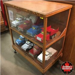 Canada Biscuit Co. Ltd. Store Display Cabinet (Missing Front Bottom Glass Panel, Back Door Glass & L