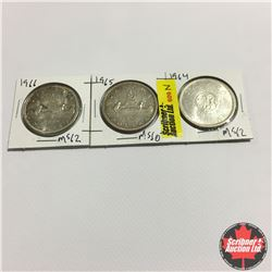 Canada One Dollar : 1964; 1965; 1966