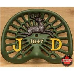 Cast Iron John Deere Implement Seat