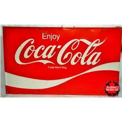 """Coca Cola Sign (59""""L x 35""""H)"""
