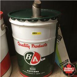 B/A 5 Gallon Pail
