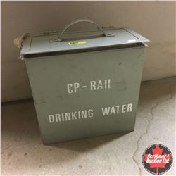"""CP Rail """"Drinking Water"""" Carry Case Cooler"""