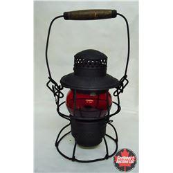 CHOICE of 3 CPR Railroad Brakeman Lantern - Red