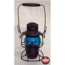 CHOICE of 3 CPR Railroad Brakeman Lantern - Blue