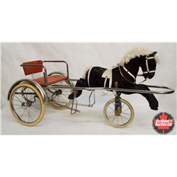 Child's Horse and Sulky Pedal Cart