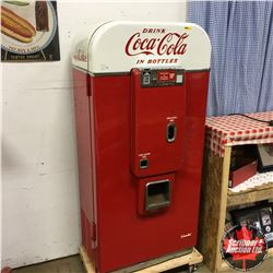 "Vendo 80 ""Drink Coca-Cola"" (Interior has Shelves - Fridge Like) Refrigerates / Doesn't Vend"