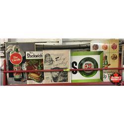 7-Up Paper/Cardboard Advertising (5pcs)