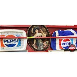 Pepsi Trays (2) & Pepsi Bag