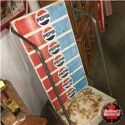 """Pepsi Store Display Stand (24""""x50""""x25"""")"""