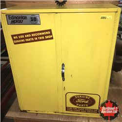 """Genuine Ford Parts Cabinet (Metal) (20""""x24""""x8"""")"""