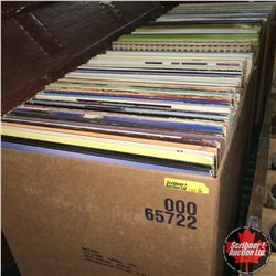 Record Albums (4 Boxes) 130 + Albums