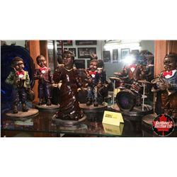 Rolling Bones Band - Collectibles (6 Figures)