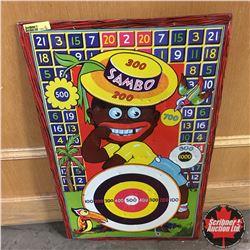 """""""Sambo"""" Tin Target 14""""x23"""""""