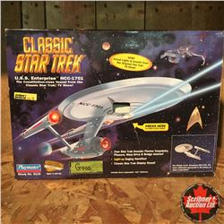 "Playmates Collector Toy: Classic Star Trek ""USS Enterprise"" Collector Series Edition No. 099481"