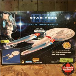 "Playmates Collector Toy: Star Trek ""USS Enterprise"" First Contact Collector Series Edition No. 05006"