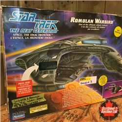 "Playmates Collector Toy: (All with Defects) Star Trek ""Next Generation"" (3): Klingon Attack Cruiser"