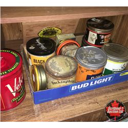 Tobacco Tin Collection (11 Tins & 1 Cigar Box)