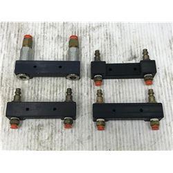 (4) K & A TOOL CO. M-1520 & M-1520B AIR CONNECTORS