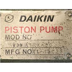 DAIKIN V38 A1RX-50 PISTON PUMP
