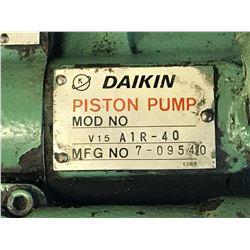DAIKIN V15 A1R-40 PISTON PUMP