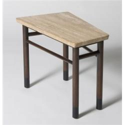 Edward Wormley Wedge Shaped End Table Model No 5215