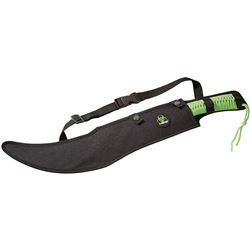 NEW Z-HUNTER MACHETE SLASHER SWORD (GREEN HANDLE)
