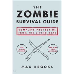 NEW ZOMBIE SURVIVAL GUIDE SOFT COVER BOOK