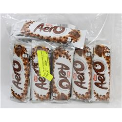 BAG OF AERO CHOCOLATE BARS.