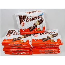 BAG OF KINDER BUENO CHOCOLATE BARS.