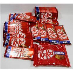 BAG OF KIT-KAT 2-PACK CHOCOLATE BARS.