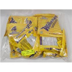 BAG OF WUNDERBAR CHOCOLATE BARS.