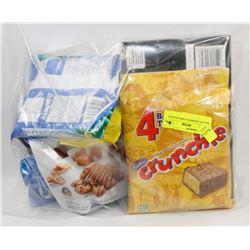 BAG OF ASSORTED CHOCOLATES.