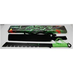NEW! 25  OVERALL ZOMBIE KILLER SWORD WITH