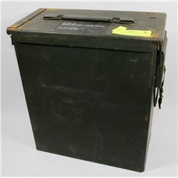 MILITARY ISSUE METAL CONTAINER