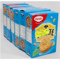 LOT OF 6 CHRISTIES PIRATE OATMEAL PEANUT BUTTER