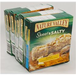 LOT OF 5 NATURE VALLEY GRANOLA BARS