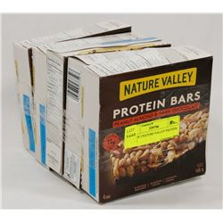 LOT OF 5 NATURE VALLEY PROTEIN BARS