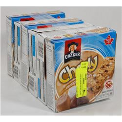 6 BOXES OF QUAKER CHEWY BARS
