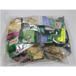 BAG OF ASST KNORR SIDEKICKS & SELECT.