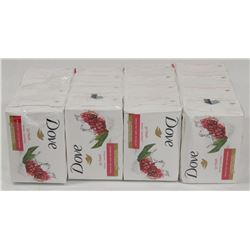 LOT OF 4 ASST DOVE SOAP.