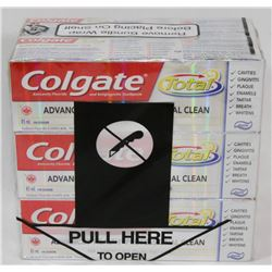 LOT OF 6 COLGATE TOTAL TOOTHPASTES.