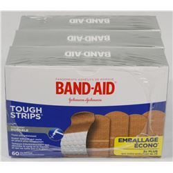 LOT OF 3 BAND-AID PACKS.