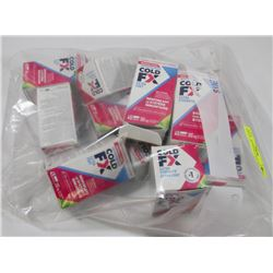 BAG OF ASSORTED COLD FX CAPSULES