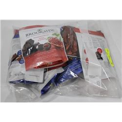 BAG OF BROOKSIDE ASST FLAVOR CHOCOLATES