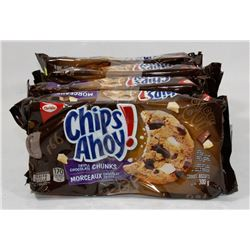 LOT OF 4 CHIPS AHOY TRIPLE CHOCOLATE