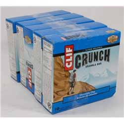 5 BOXES OF CLIF CRUNCH GRANOLA BARS