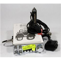 CB RADIO UNIDEN PC66A WITH ANTENNAE AND MAGNETIC