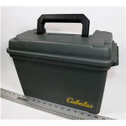 CABELLA'S FIELD BOX.