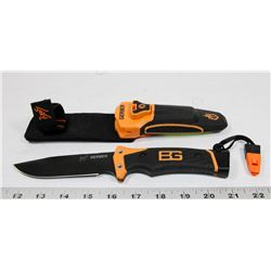 GERBER BEAR GRYLLS KNIFE WITH SHEATH.